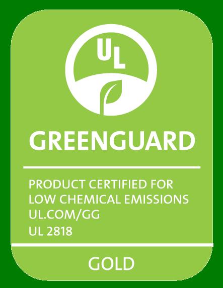 Greenguard Ul2818 Gold Cmyk Green