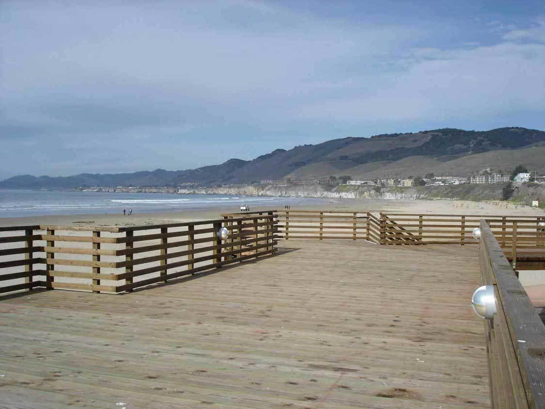 Pismo Beach Deck