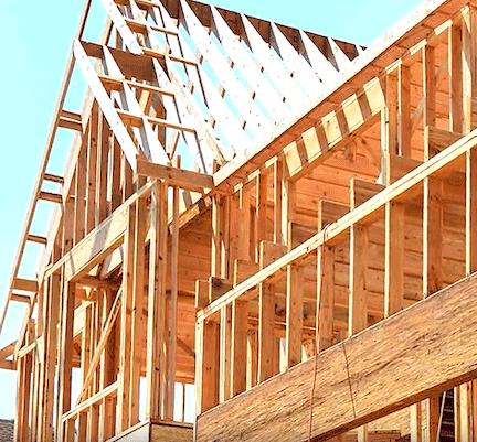 house outside framing