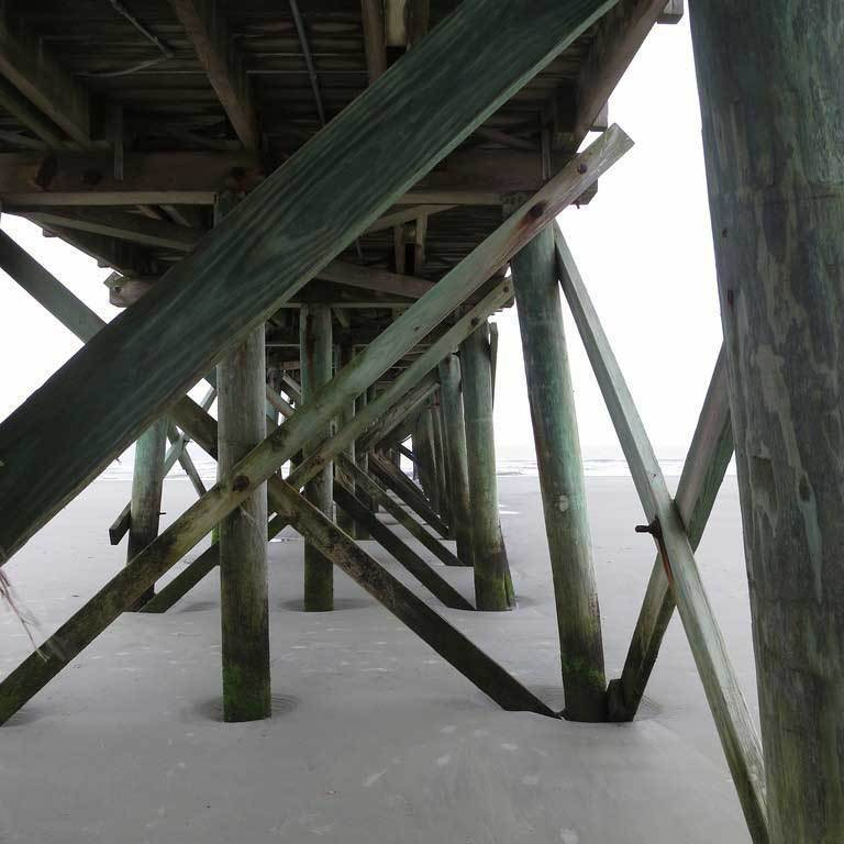 Supatimbert Pier Supports