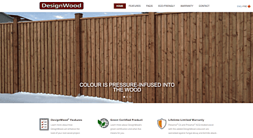 Design Wood Home Page
