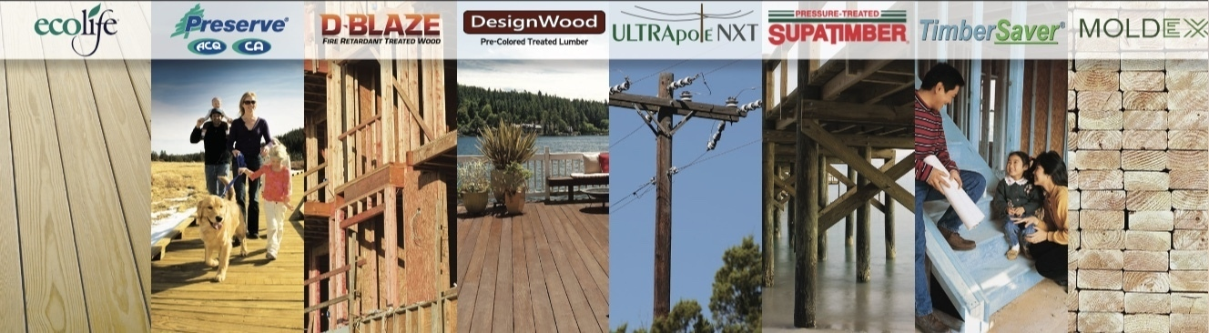 Product Information and Specifications | Treated Wood