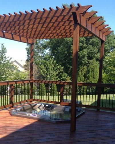 Designwood Arbor Hot Tub