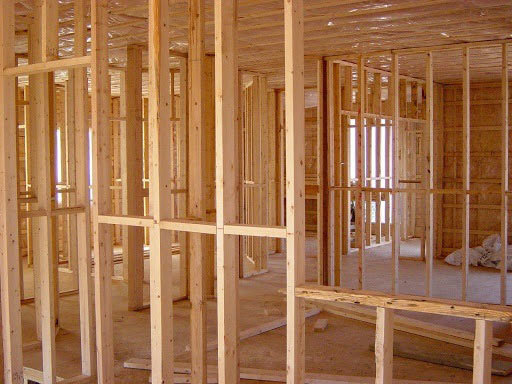 Interior wall framing